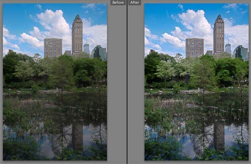 Lightroom 3 Before and After - Sequence 2