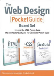 Buy The Web Design Pocket Guide Boxed Set at Amazon.com